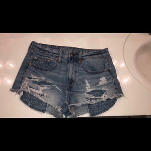 Hi-Rise Festival jean shorts
